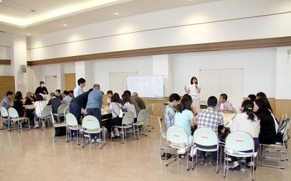 公的団体主催、婚活イベントでの「手相セミナー」